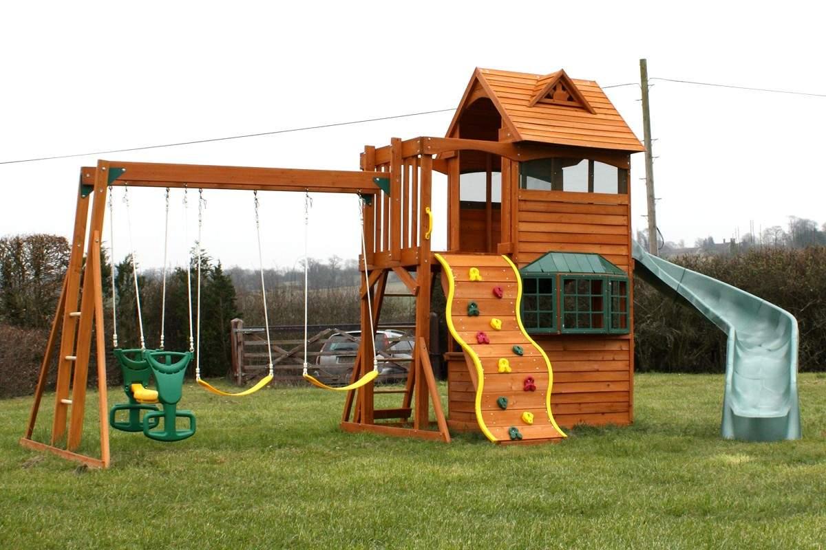 Домики для детских площадок игровых