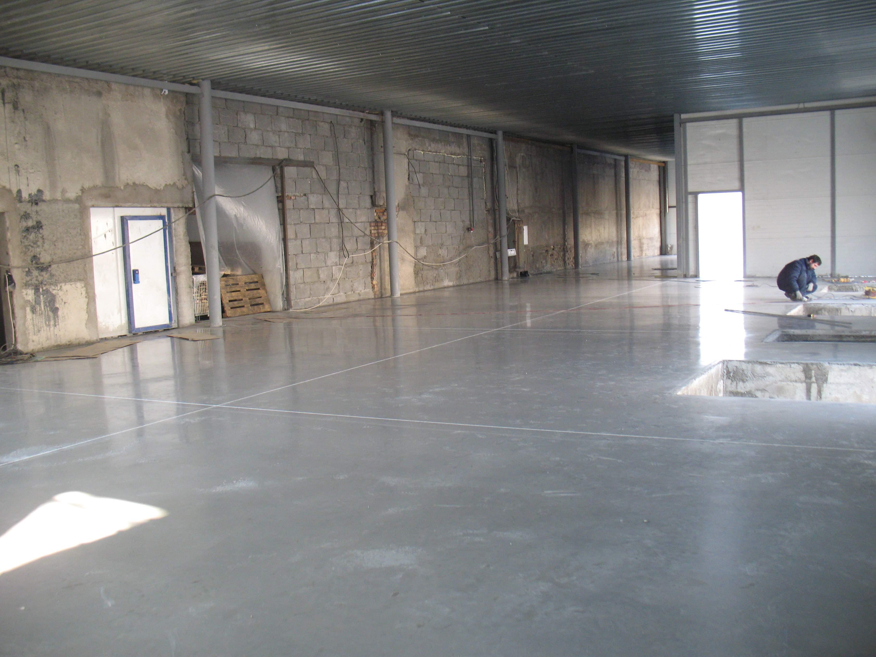 топинговый бетон